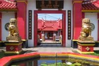 Chinese harbour temple