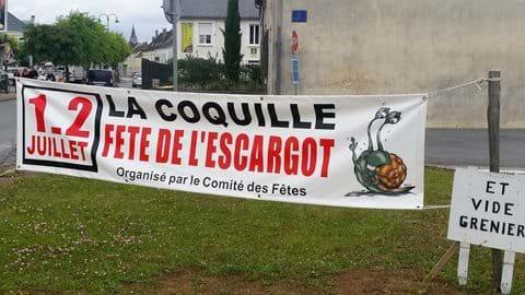 Snail fest in La Coquille