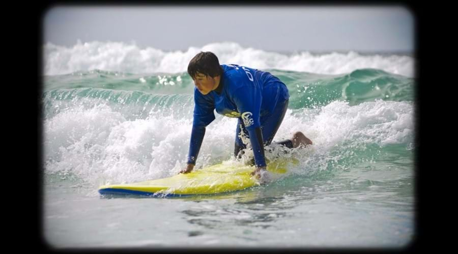 Learn to surf locally