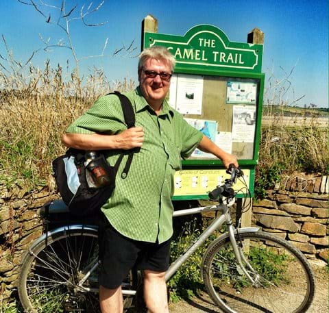 The Camel Trail is great fun for serious and not-so-serious cyclists