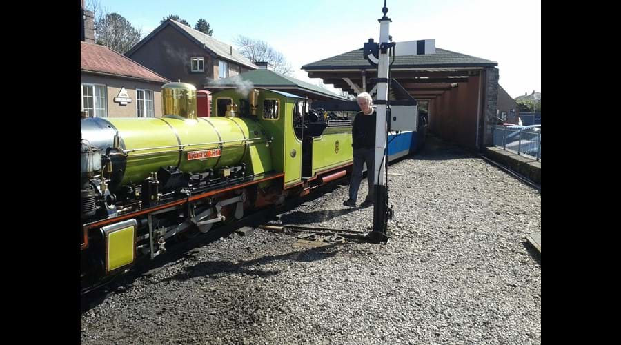 "Ravenglass little railway.""La'al Ratty"