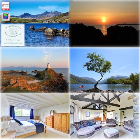 Snowdon  Llanberis Newborough Beach Angelsey Twr Mawr Lighthouse all within easy reach