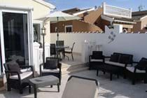 Great area for evening drinks and a chat by the pool