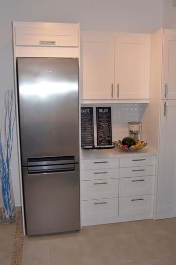 Full-sized Refrigerator & Freezer!