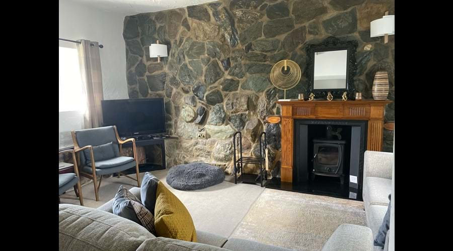 Lounge, TV with Freesat & Google Chromecast