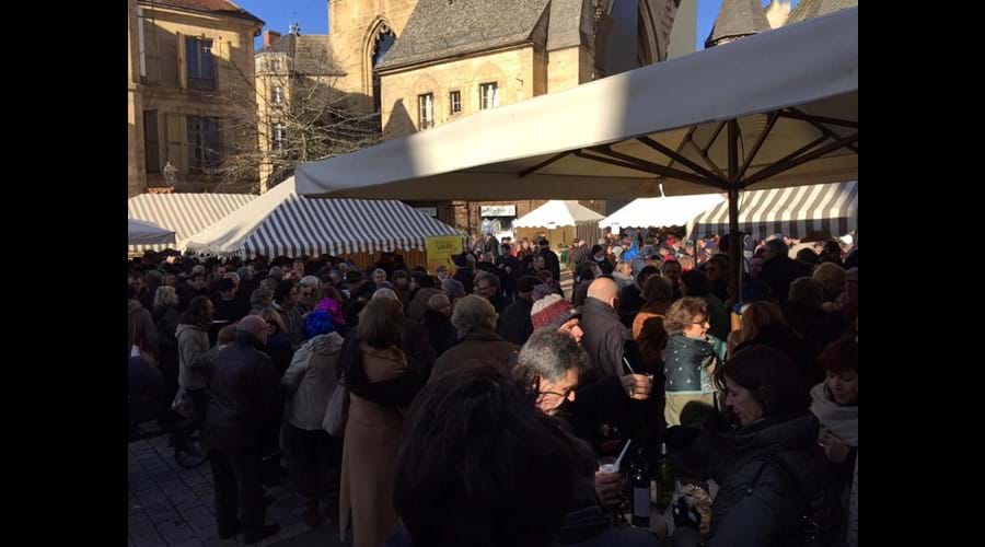 Fete de la Truffe (Truffle Festival) is held in January