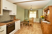 The Open Plan Kitchen/Dining Room