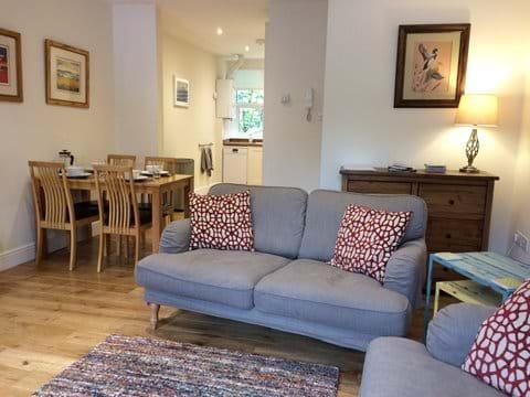 Flat 1 living/dining/kitchen
