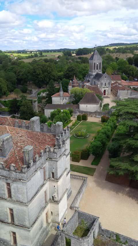 Chateaux de Bourdeilles (60 mins drive)