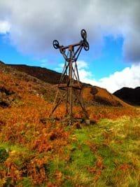 Cwm Bychan above Beddgelert