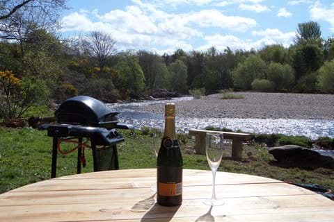 Enjoy a picnic down by the river