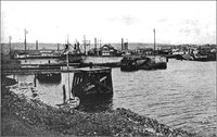 Llanelli Docks around World War ll