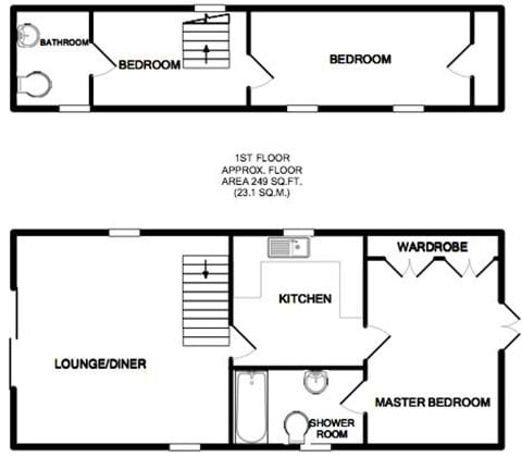 Lodge floor plan