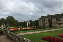 Medieval Lanhydrock House and grand gardens