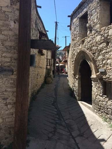 Omodos Village.