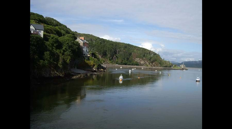 The estuary Barmouth