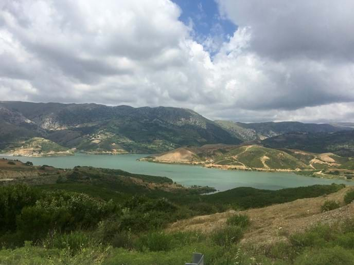 Reservoir near Margarites