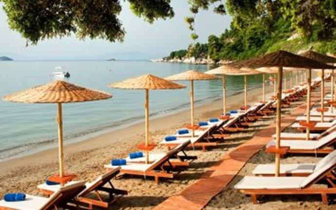 Skiathos - Vassilias beach (below Katsaros)
