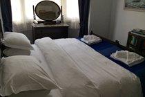 SUPER-KING bed set-up in front bedroom