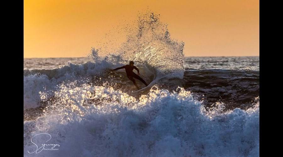 Plenty of surfing schools locally