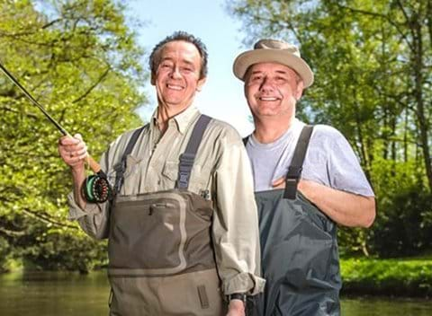 Filming location and accommodation for Mortimer & Whitehouse: Gone Fishing Series 3