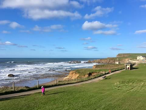 View towards Crooklets Beach, Bude