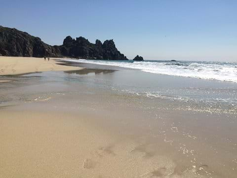 Deserted amazing  Logans Rock Beach