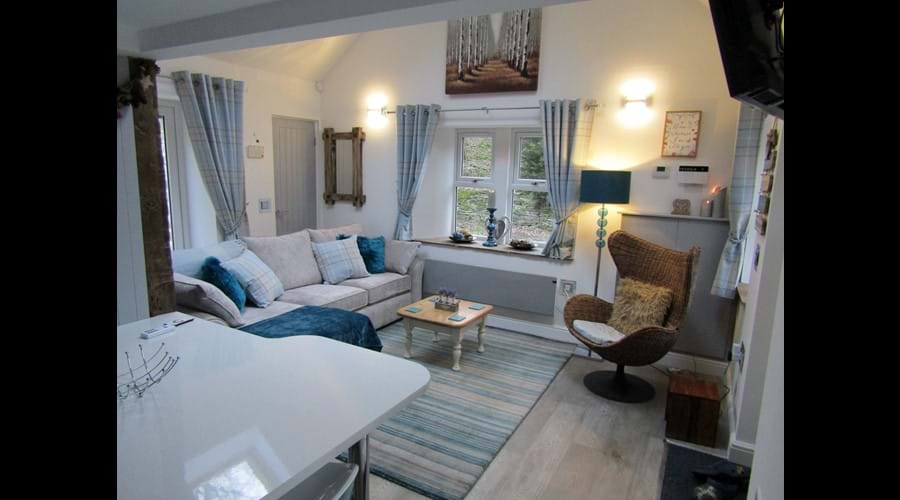 Lounge - configuration for 4 guests....