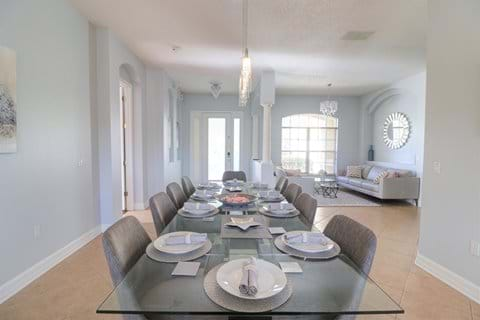 Formal Dining Table for 10