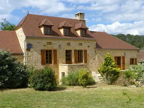 Le Chataignier, a beautifully renovated stone farmhouse dating from the 16th c