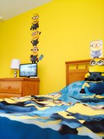 Minion Twin Bedroom