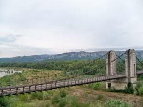 Pont Suspendu, Mallemort