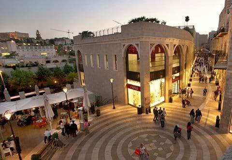 Modern Jerusalem beyond the Old city