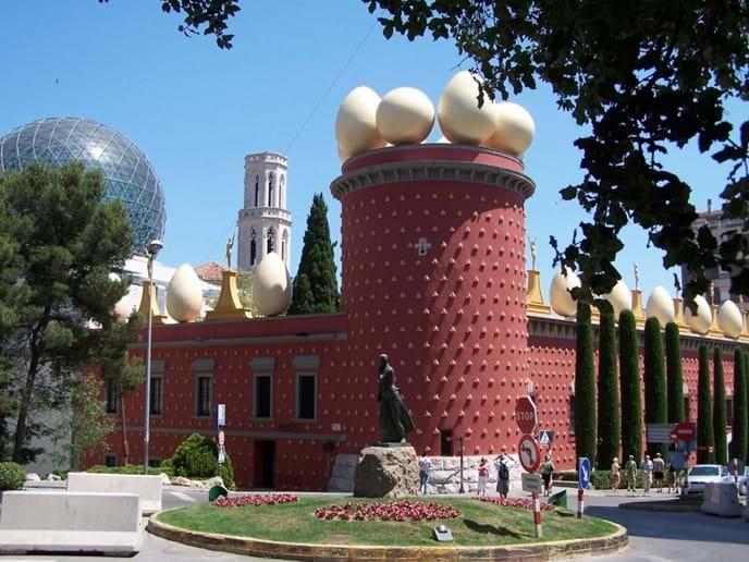 Dali museum Figueres, Spain - 45 mins