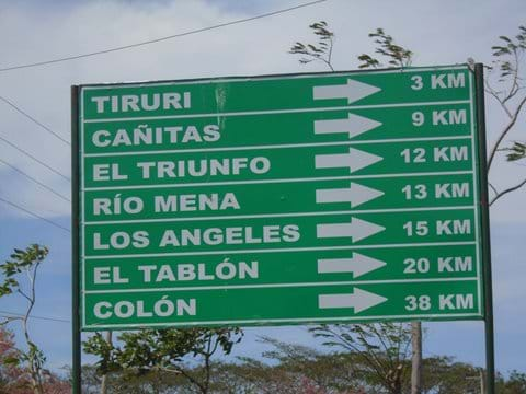 Places to go by bicycle (km from Cardenas)
