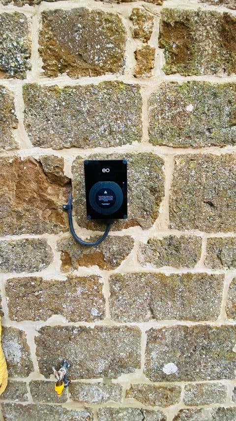 Electric Car Charging point recently added