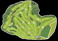 Carmarthen Golf Club Course Map