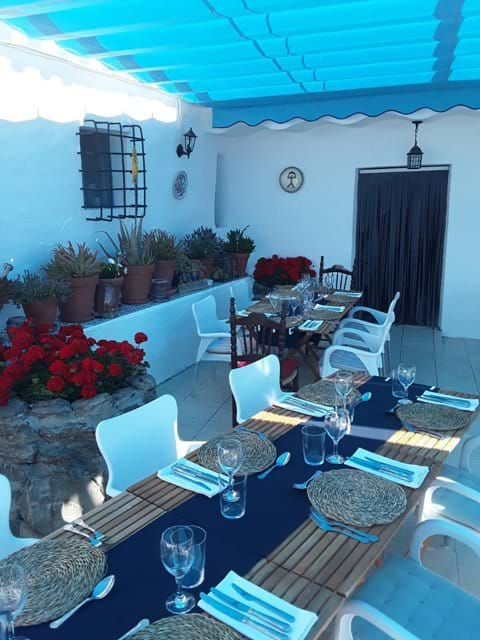 The Terrace Dining Area.