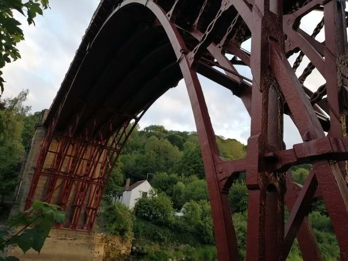 The Iron Bridge - a stones throw away from Ironbridge View Townhouse