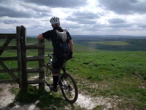 Cycling Pewsey Downs - Oliver Cripps
