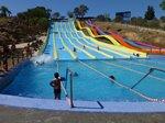 Crazy Races ride at Aqualand Water Park