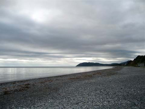 Enjoy the September emptiness of Killiney beach See http://www.visitdublin.com/best-dublin-beaches