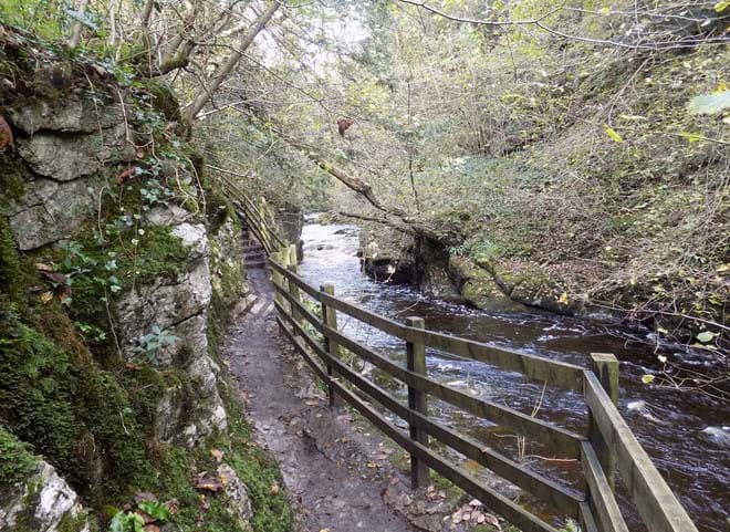 Ingleton Waterfalls Trail.