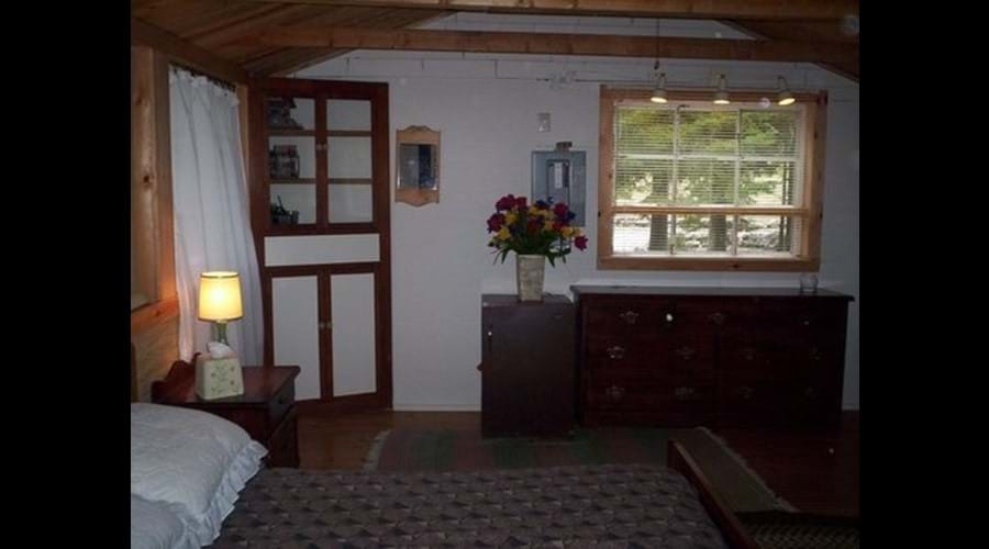 The Guest Cabin is ideal for older children, maybe a second couple or for grand parents wanting a private sleeping space.
