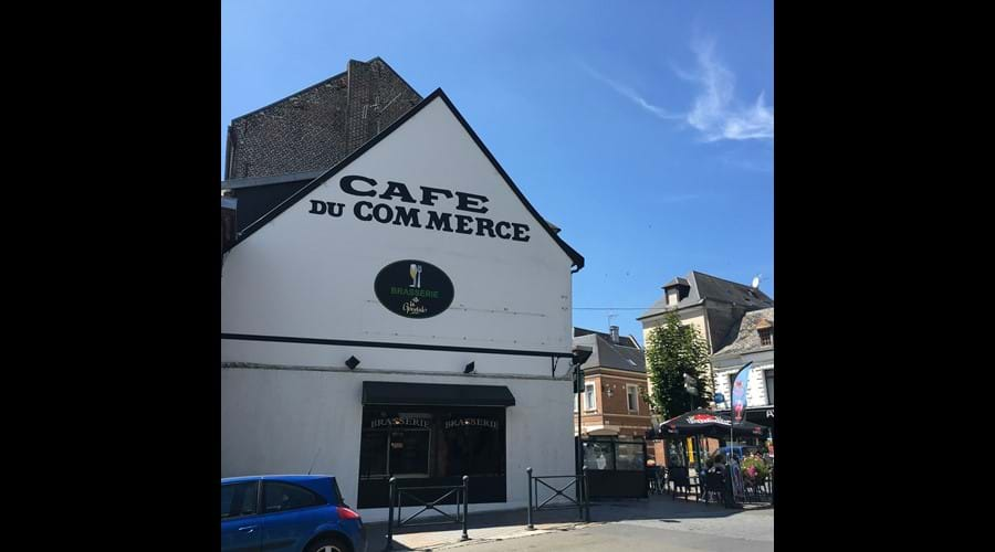 Cafe du Commerce Doullens - 20 mins drive away