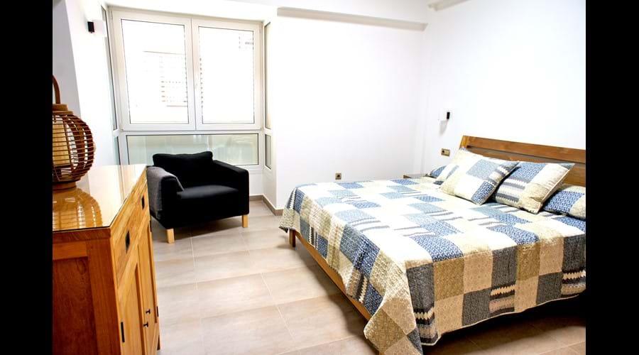 Master Bedroom  super king  memory foam mattress