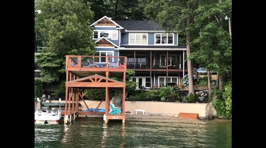 New Covered Dock