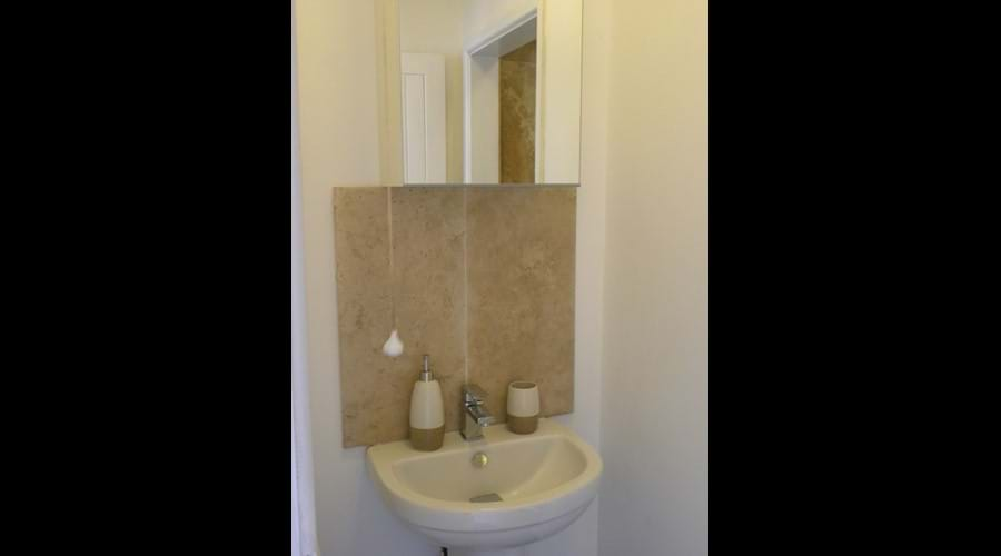 The Shippon shower area