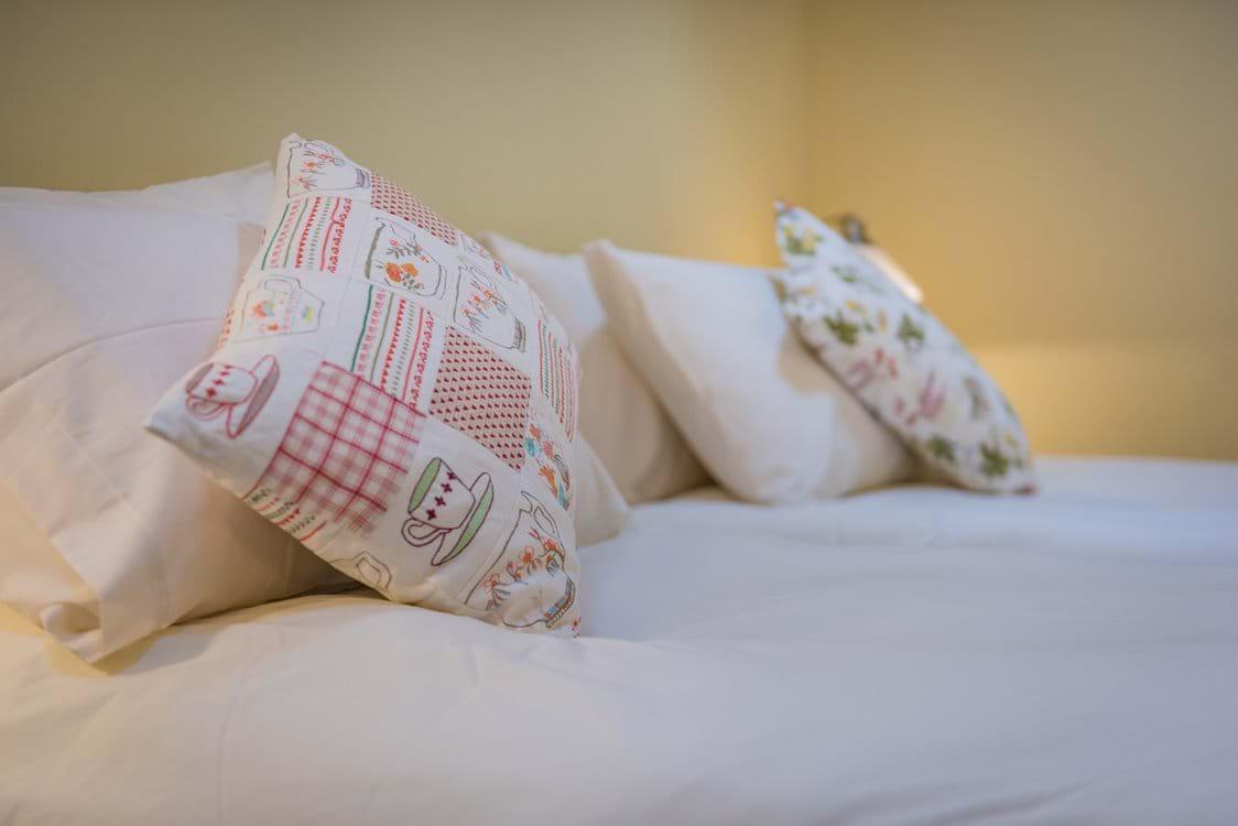 pretty hand sewn cushions