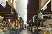 Covered market in l